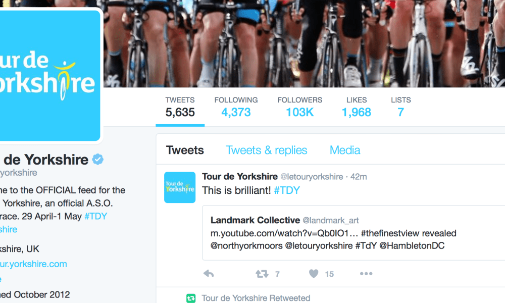The Finest View – TDY Tweet… Whoop.