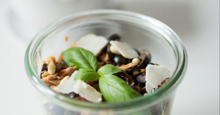 Tomate-Basilikum-Pesto