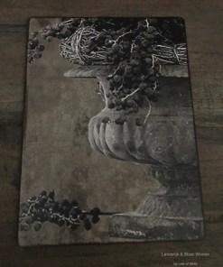 Deco bordje Antieke vaas