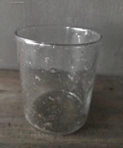 Glazen Waxine houder