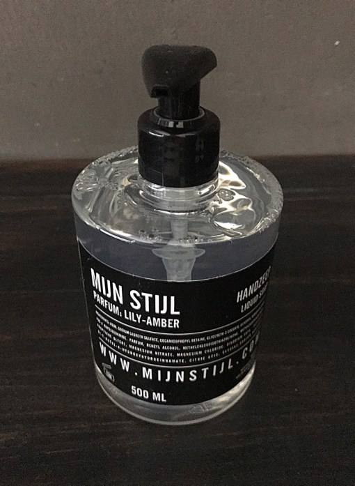 Handzeep parfum Lily Amber