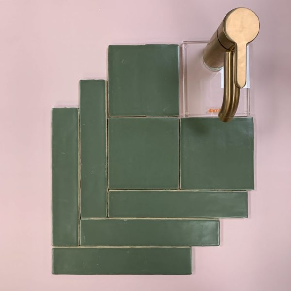 Mindelo Navy Green 13x13