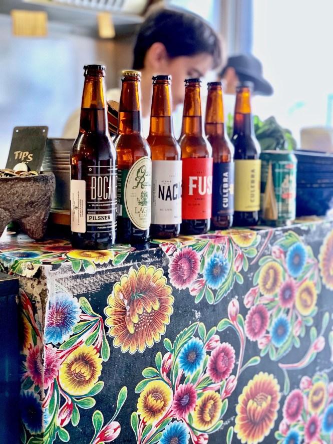 beers at el nopal in paris