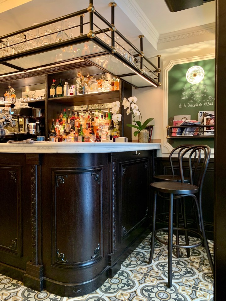 Bar at Le Gévaudan