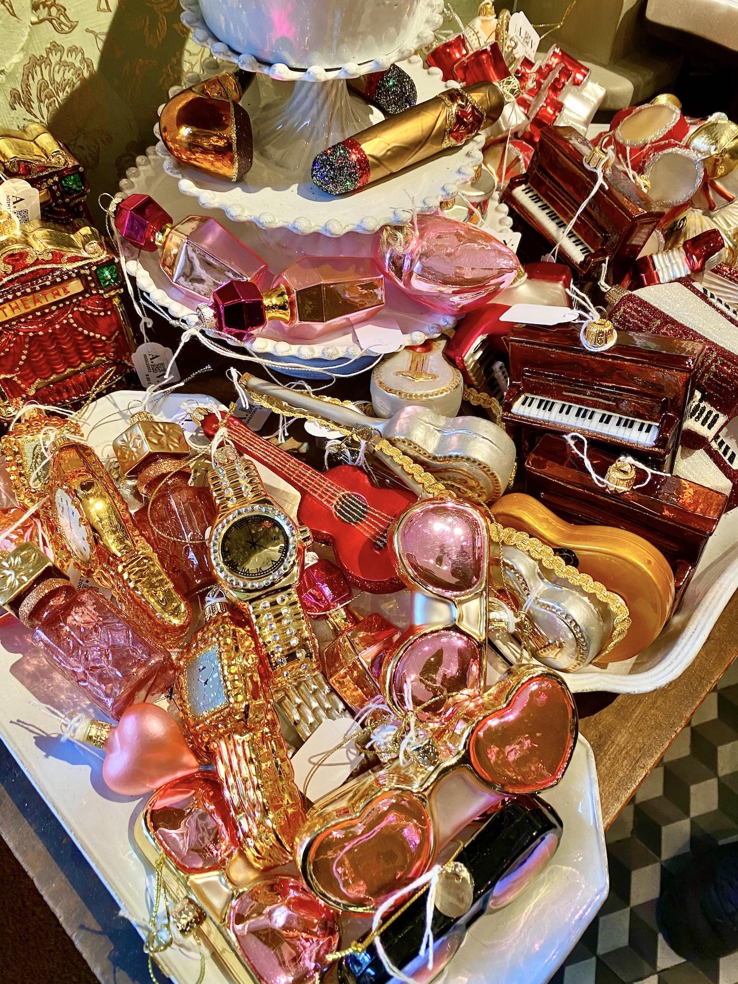 Christmas in Paris fun ornaments