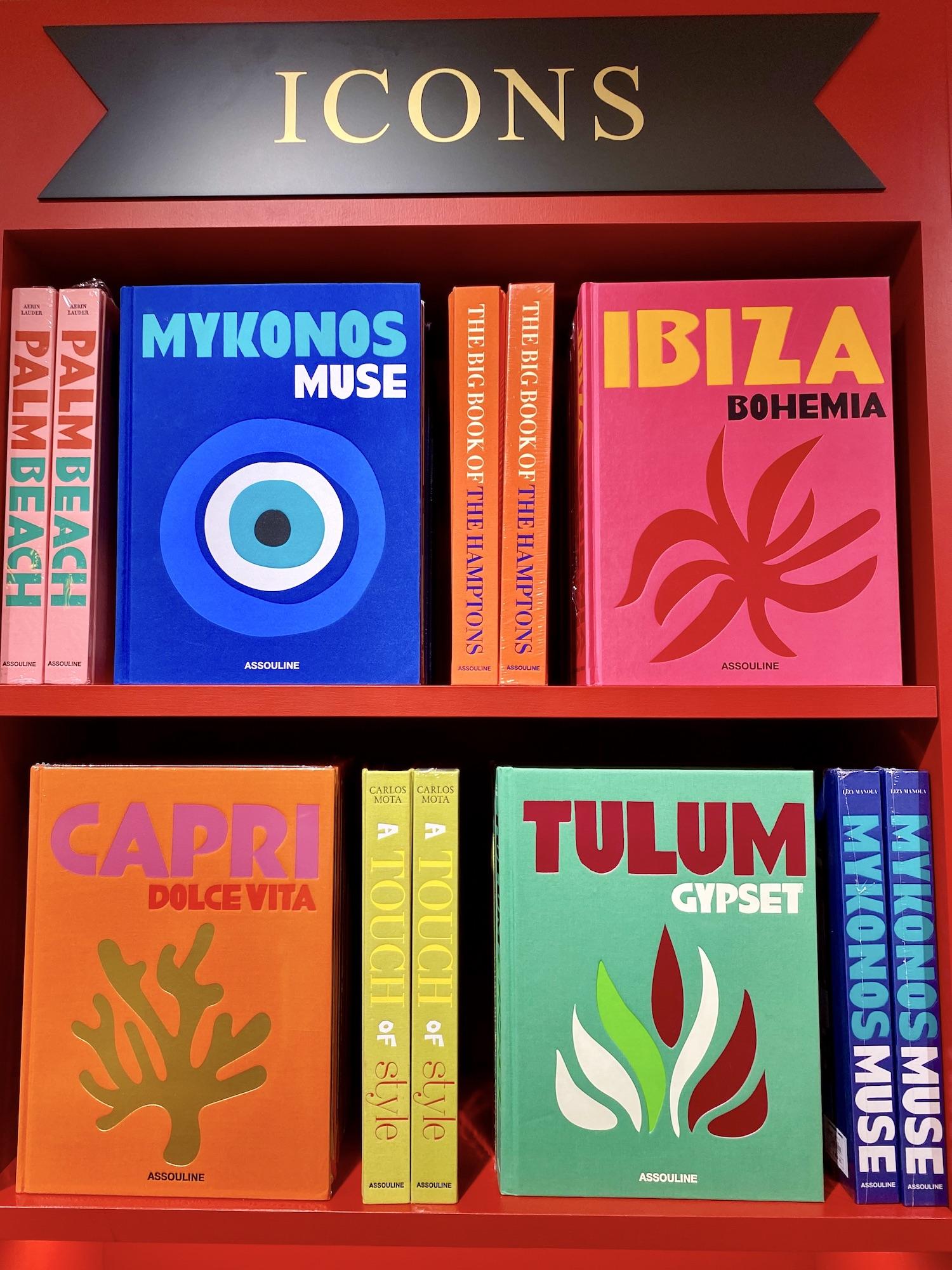 Assouline Travel Classic Books
