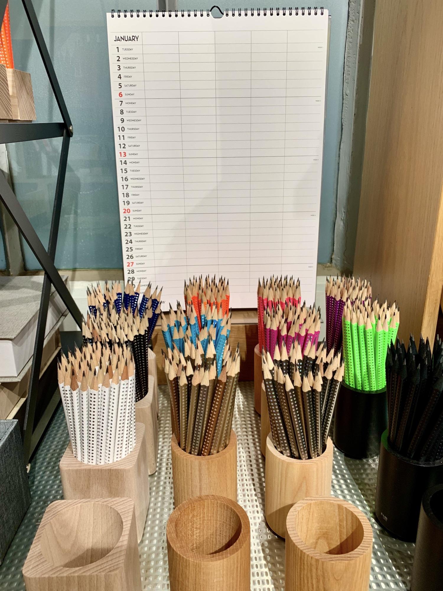 Bookbinders Design Pencils Rue du Bac