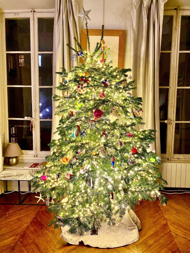 Christmas in Paris Sapin de Noël