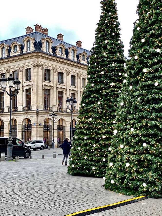 Christmas in Paris Place Vendome