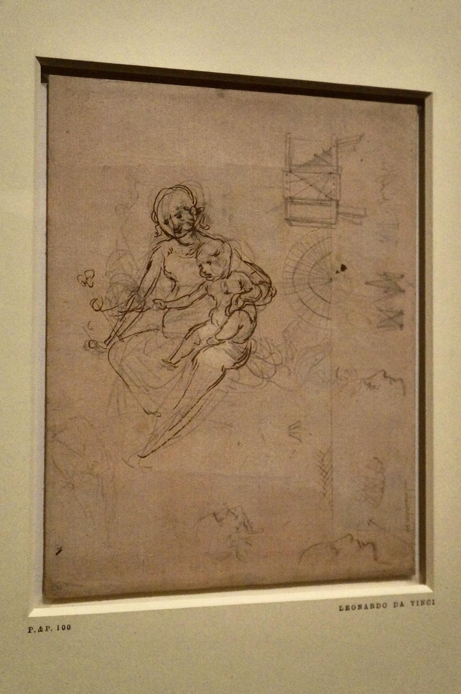 Benois Madonna Sketch