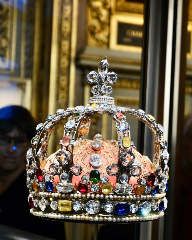 French Crown Jewels Louis XV Crown