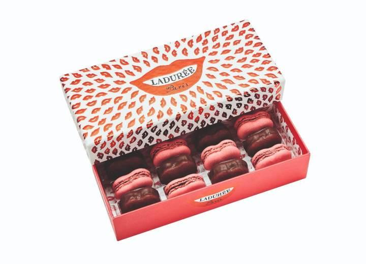 Ladurée 'Juste Un Baiser' macarons Valentine's Day Gift Ideas for Francophiles