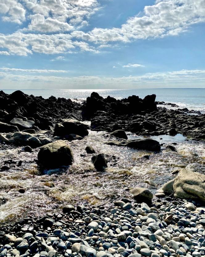 Rocky Beach Normandy Hike