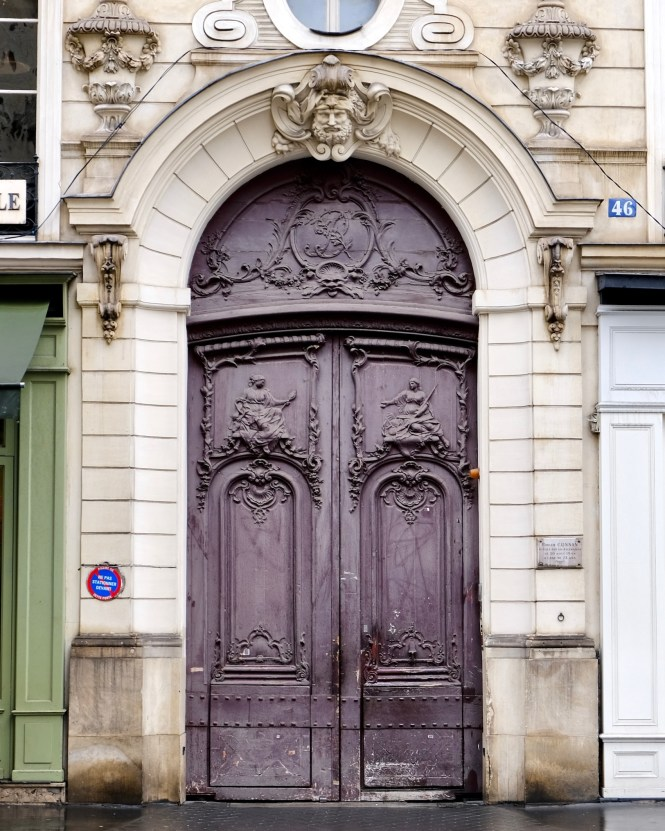 Five Reasons to Take a Solo Trip to Paris purple door
