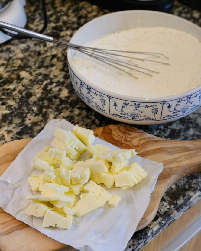homemade butter tortillas first step