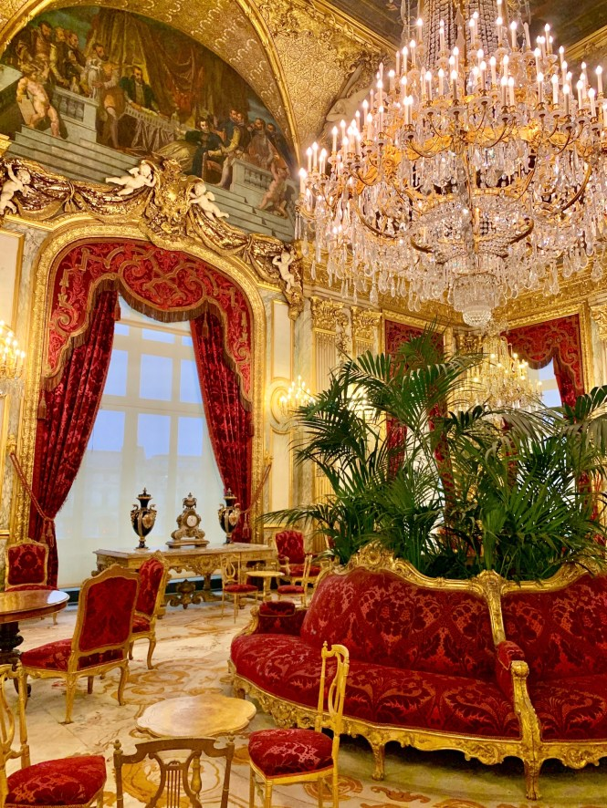 Napoleon III Apartments at the Louvre