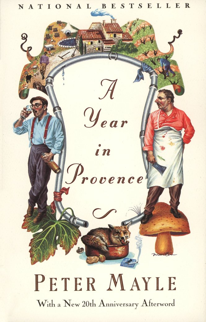 A Year in Provence books about France