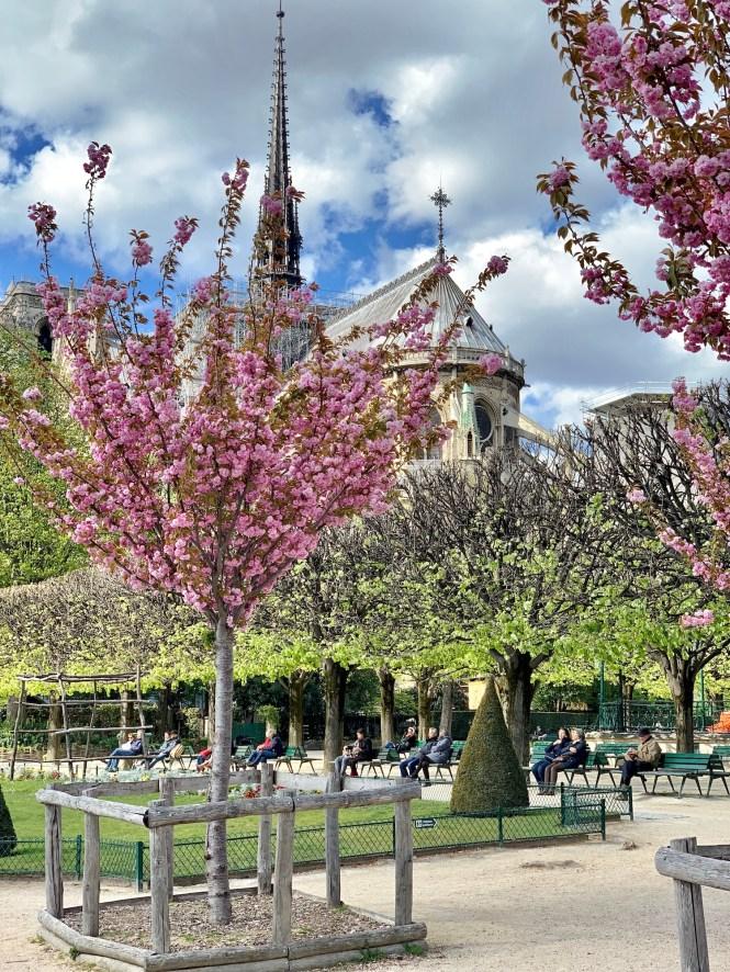 A Different April in Paris