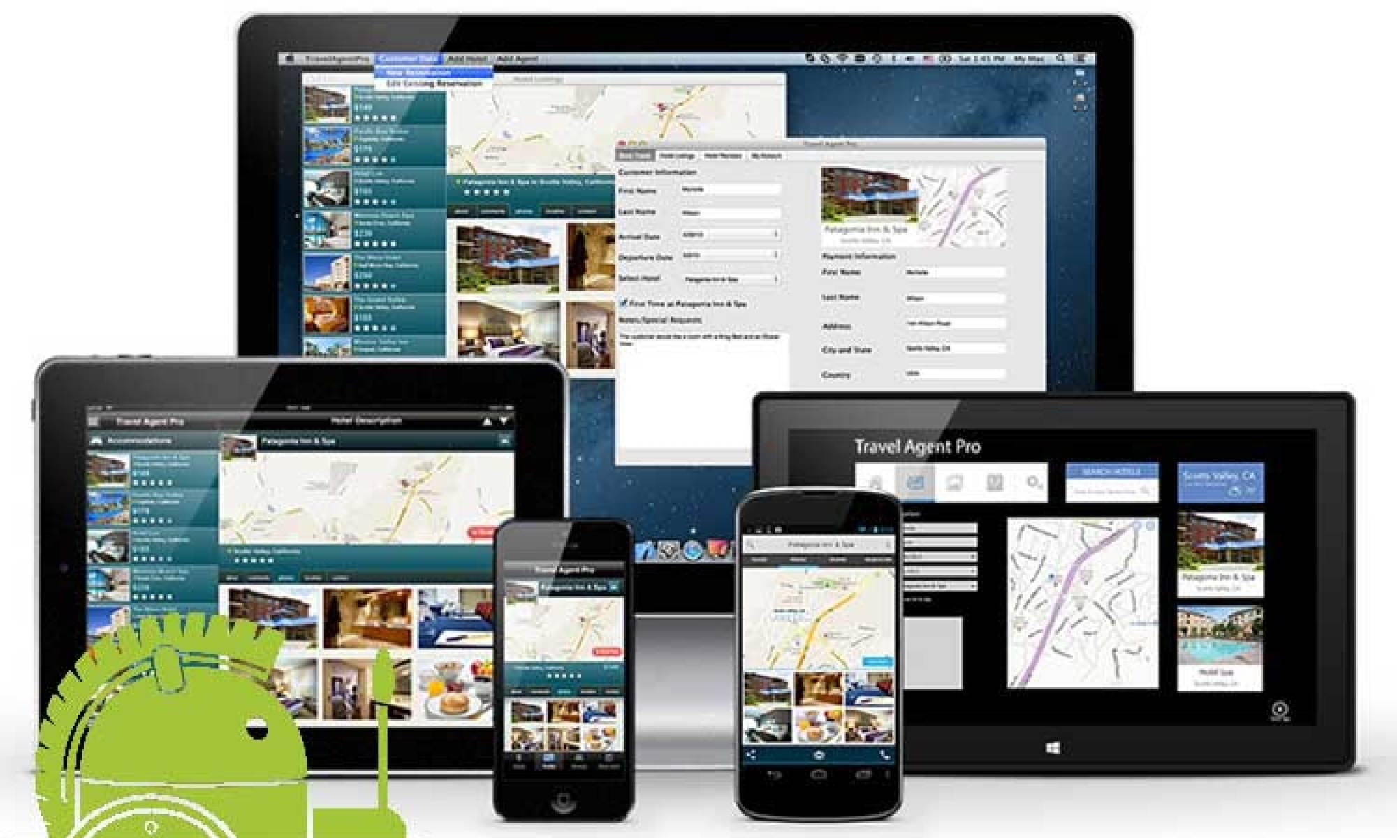 Dispositivos Androids e Delphi