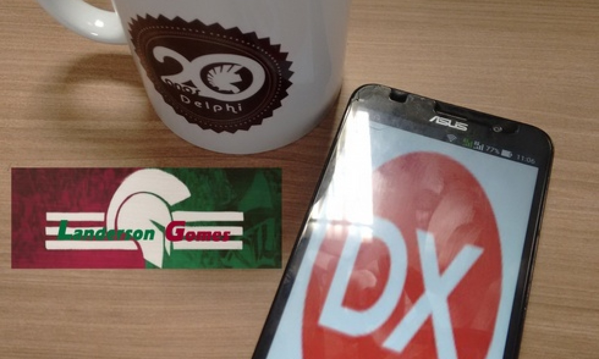Zen Fone 2 - Rodando Delphi Android