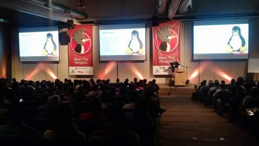 Jim Mckeeth apresentando o Linux Preview do Delphi