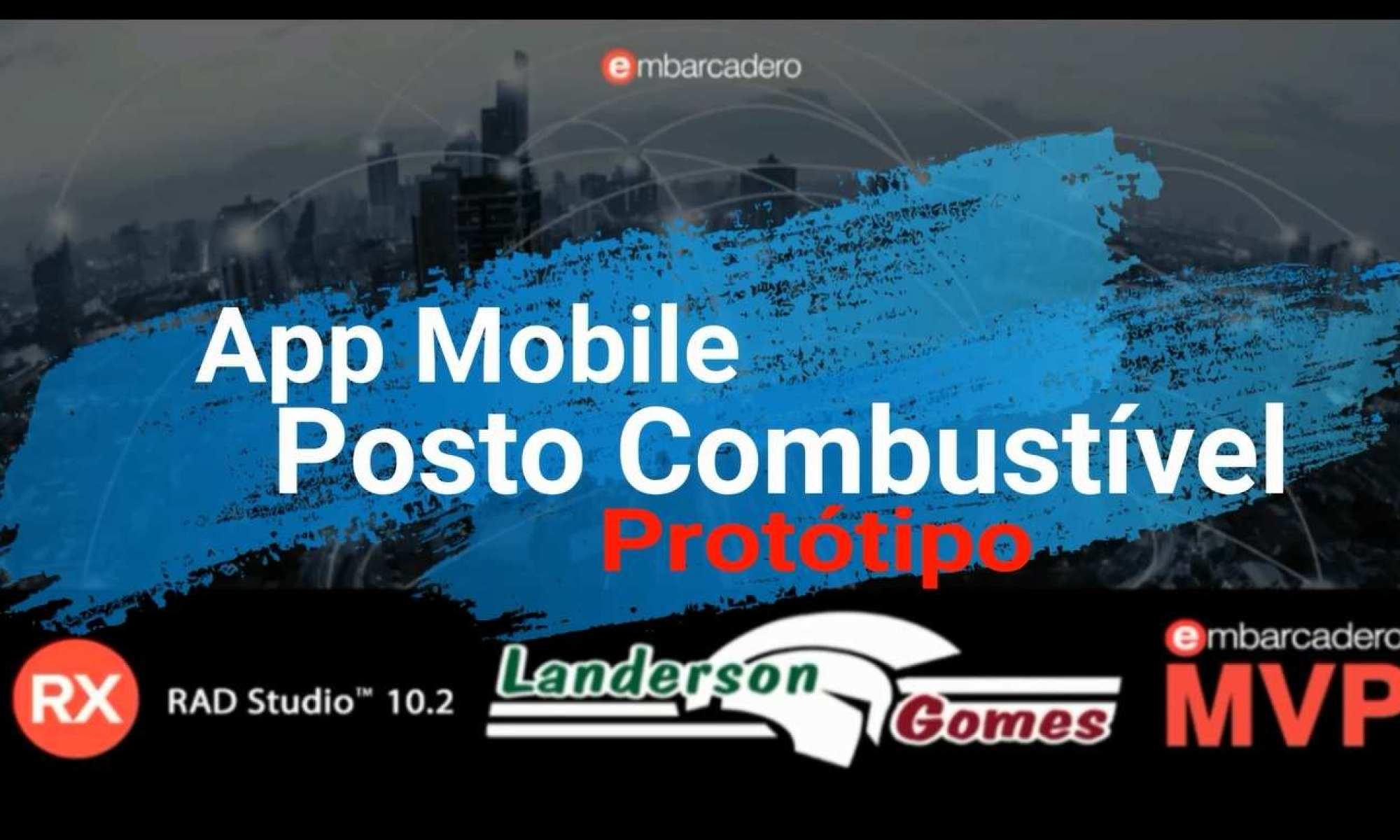 Protótipo App Demo Gestão Posto de Combustível