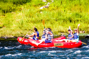 rafting on the Delaware River