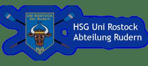 Das Logo der HSG Uni Rostock, Abteilung Rudern