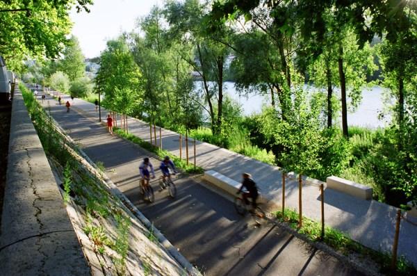 rhone river banks in situ architectes