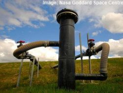 Landfill gas extraction equipment image