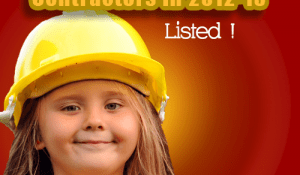Top 20 UK Civil Engineering Contractors in 2012-13