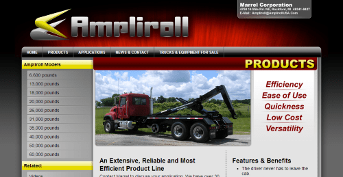 ampliroll website homepage-thumb