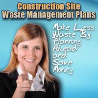 construction site waste management plans