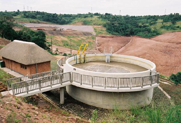 landfill leachate treatment plant