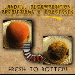 peach demos decomposing waste