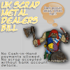 scrap metals dealers bill ogre