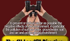 Lofty ideals of EU Landfill Directive