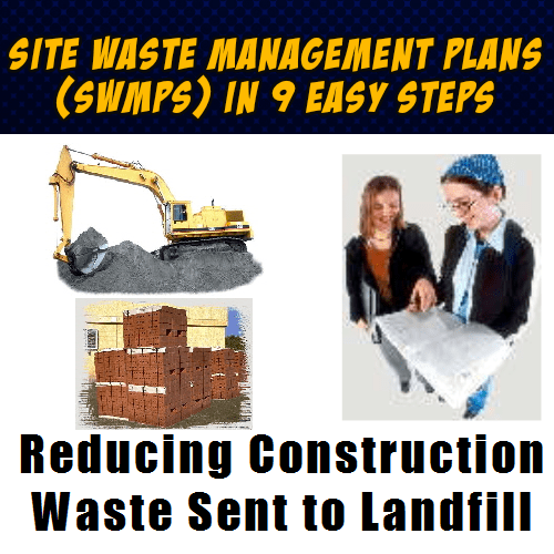 Create Construction Site Waste Management Plans Swmps In