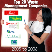 Some waste management companies that were in top 20