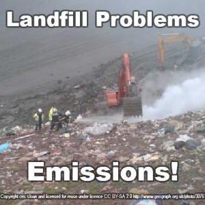The biggest landfill problem emisions fire
