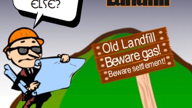 Building on landfill not a good idea