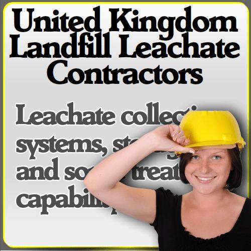 landfill leachate contractor list