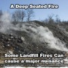 landfill fire deep seated anthracite based