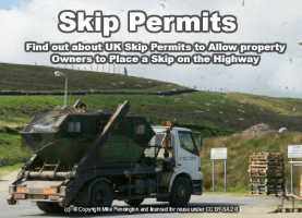 landfill skip permits needed in some UK boroughs