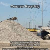aggregate replacement through concrete recycling 350x350