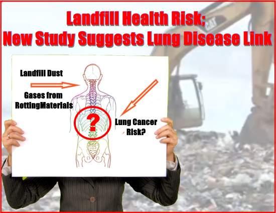landfill health risk article