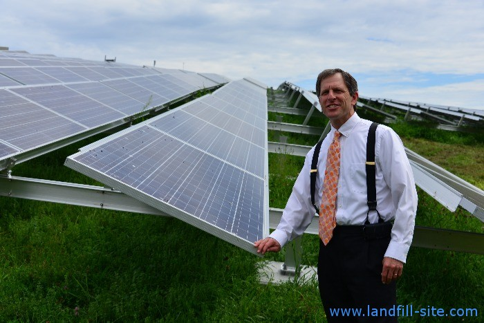 old landfills with solar panels, solar landfills and \