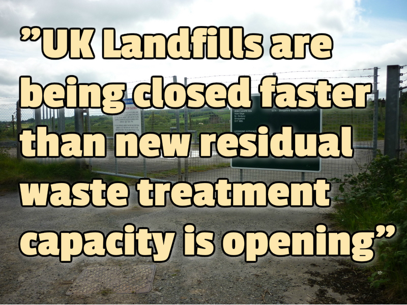"Presentation: UK ""Sleepwalking"" Into Waste Treatment Capacity Crisis – E S A."