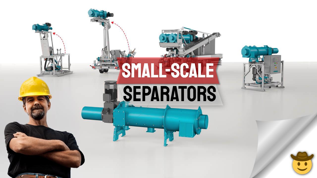 Small Scale Separators