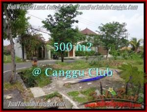 Beautiful 500 m2 LAND FOR SALE IN CANGGU TJCG176